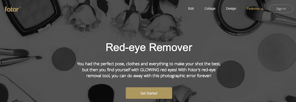 Fotor Red-Eye Remover