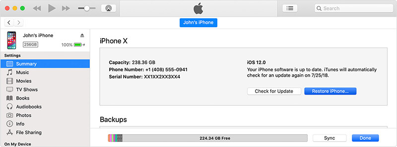 Check iPhone IMEI