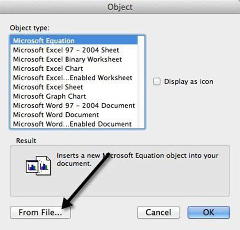 PDF in Word