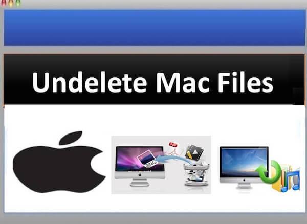 Cofnij usunięcie plików Mac