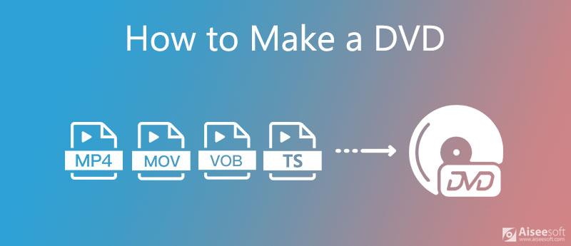Crea un DVD