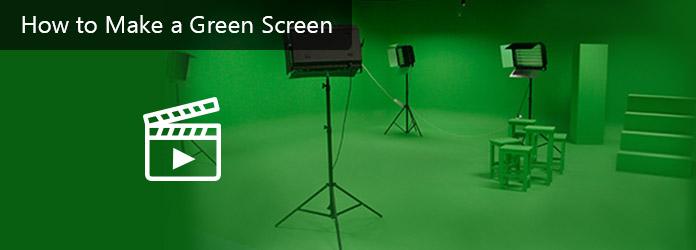 Vytvořte zelené video