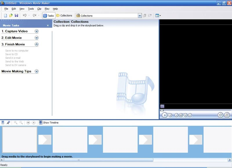 Unisci M4V Windows Movie Maker