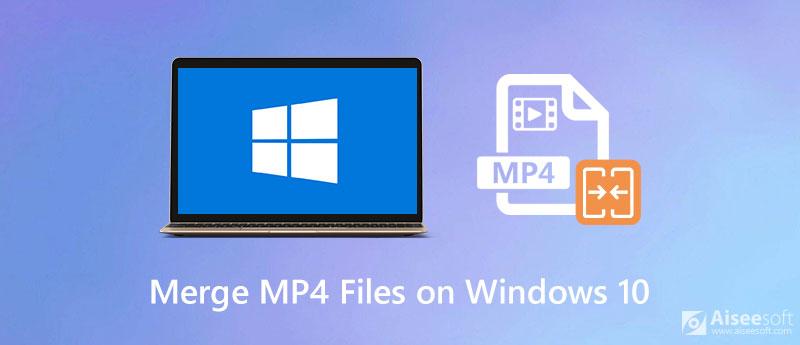 Połącz pliki wideo MP4 na komputerze