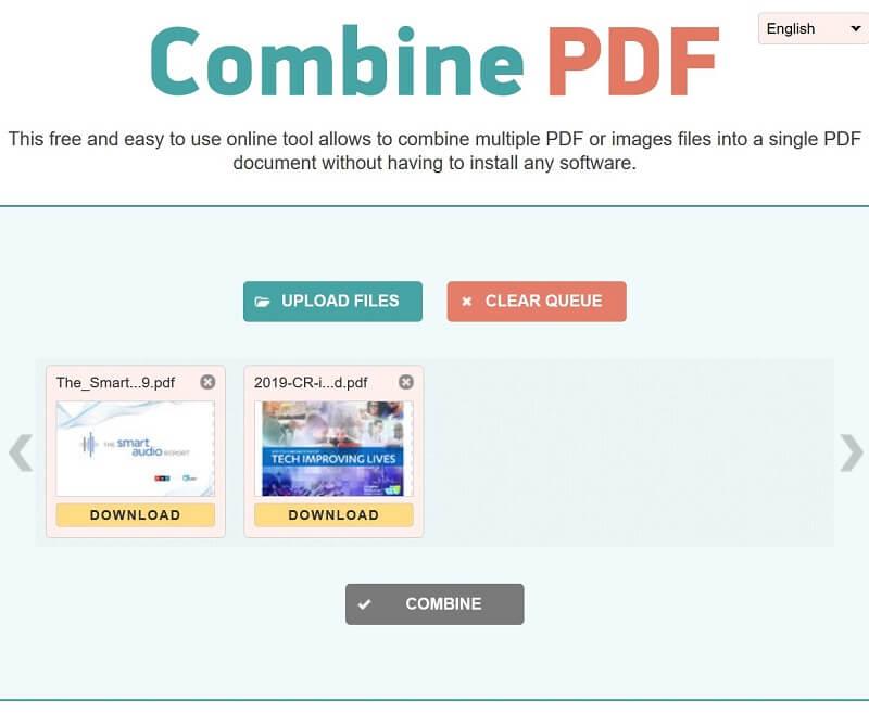 Συνδυάστε PDF