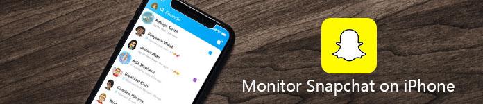 Monitor Snapchat na iPhone