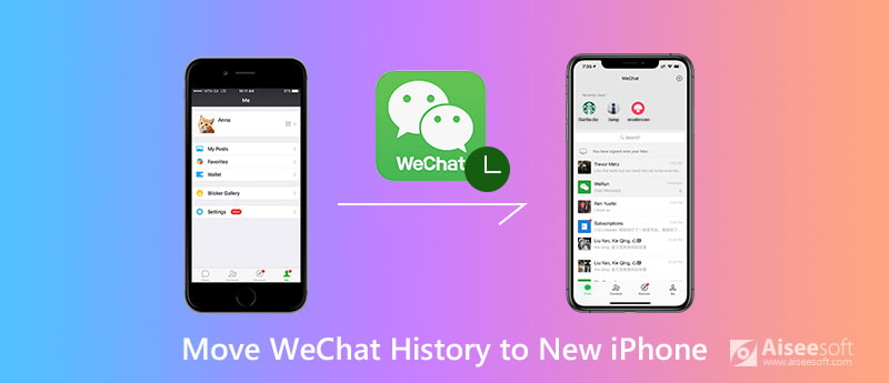Move WeChat History to New iPhone