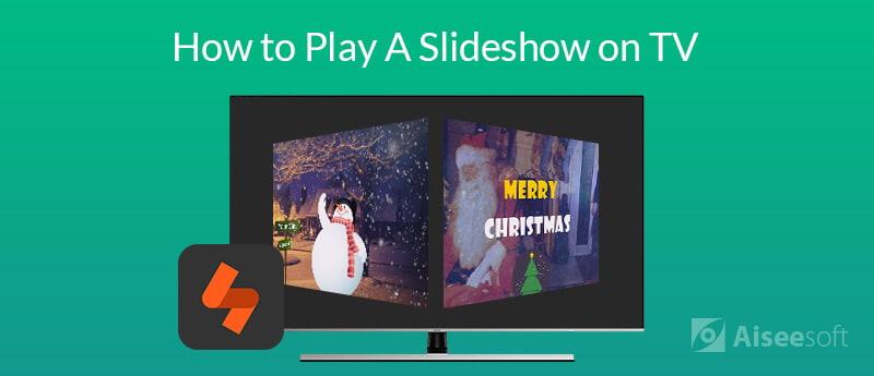 Jak odtwarzać pokaz slajdów w telewizji