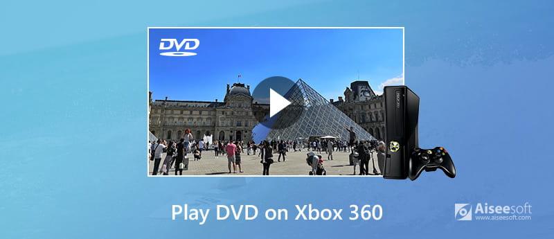 Odtwarzaj dyski DVD na konsoli Xbox 360