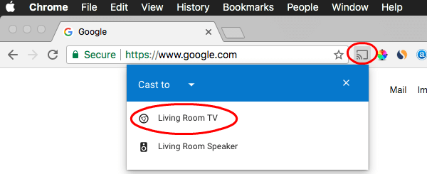 Chromecast Mac