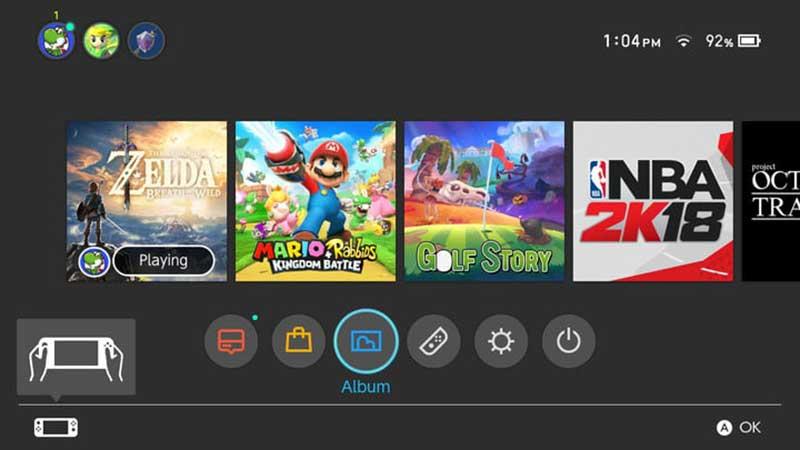 Nintendo Switch άλμπουμ