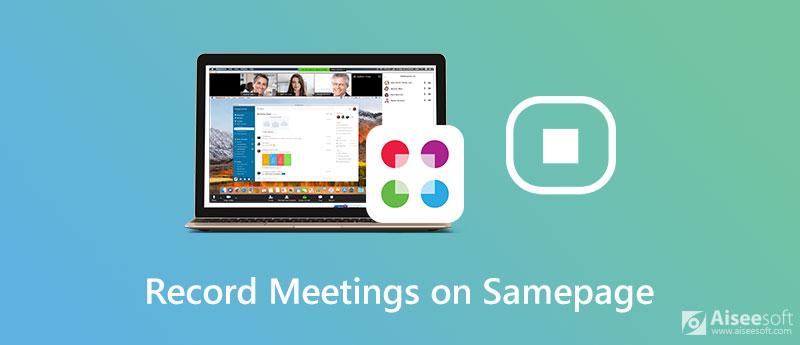 Registra le riunioni su Samepage