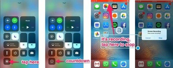 iPhone屏幕錄像機ios11