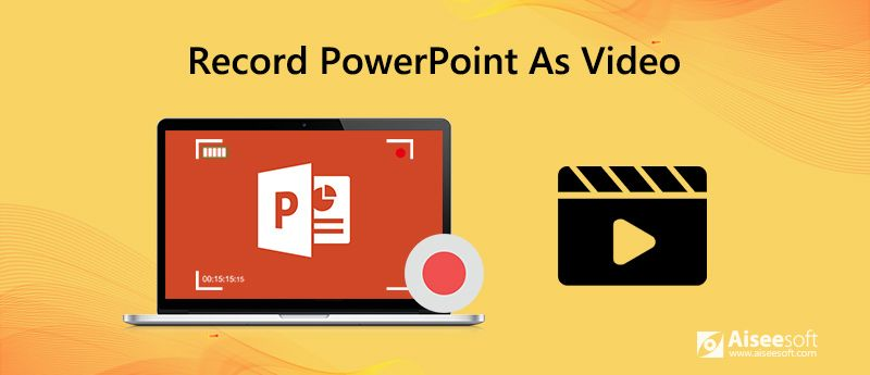 Record Powerpoint as Video