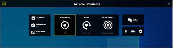 Nakładka Geforce Experience