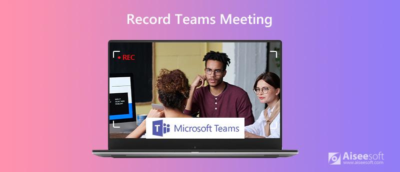 Registra la riunione dei team