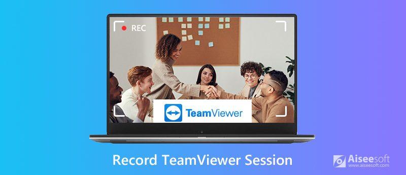 Zaznamenejte relaci schůzky TeamViewer