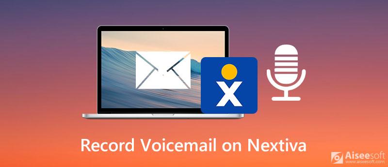 Zaznamenejte hlasovou schránku na Nextiva