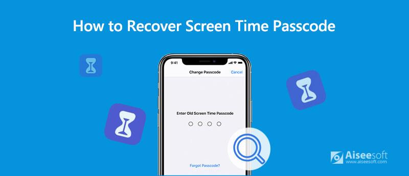 Herstel Screen Time Passcode