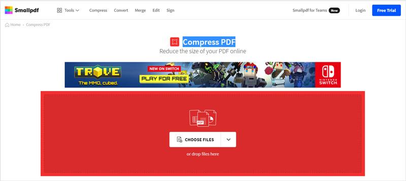 Komprimujte PDF