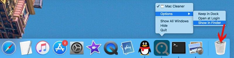 Usuń ikonę aplikacji w folderze aplikacji