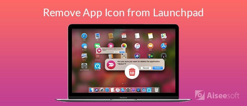 Usuń aplikację (ikonę) z Launchpad na Macu