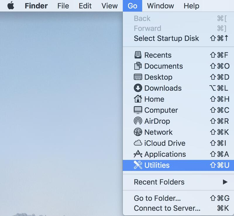 Mac-hulpprogramma's