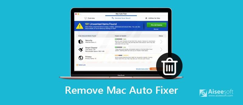 Mac Auto Fixer verwijderen