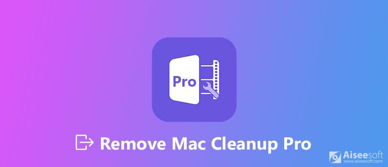 Καταργήστε το Mac Cleanup Pro