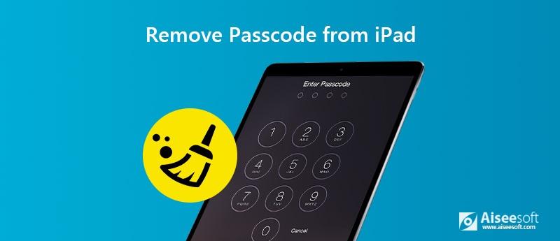 Καταργήστε τον κωδικό πρόσβασης από το iPad
