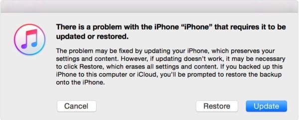 Κατάργηση κωδικού πρόσβασης από το iPhone με επαναφορά