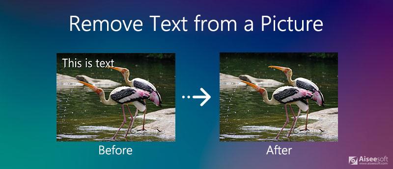Κατάργηση κειμένου από μια εικόνα