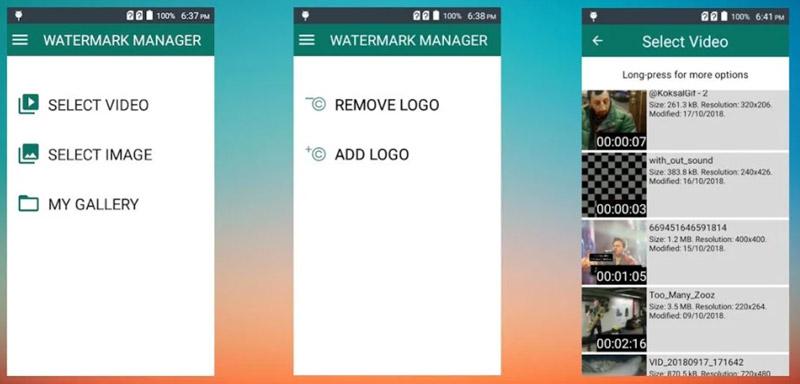 Odstraňte vodoznak TikTok v systému Android