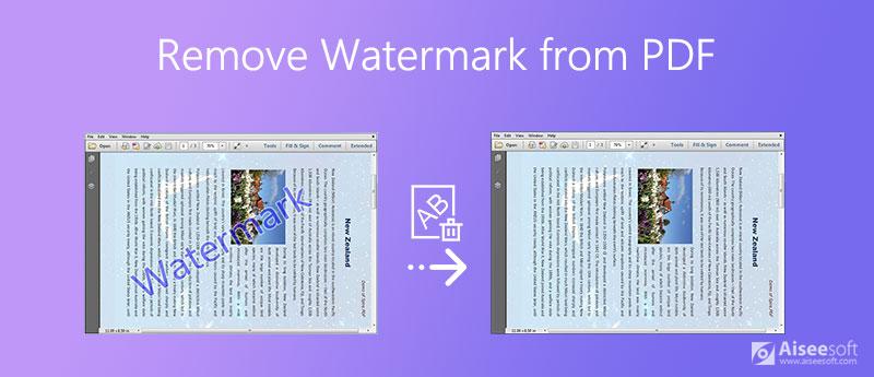 Odebrat vodoznak z PDF