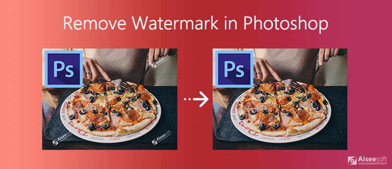 Odeberte vodoznak ve Photoshopu