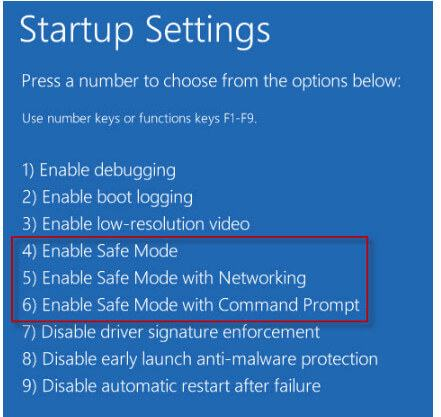 Ασφαλής λειτουργία των Windows 10