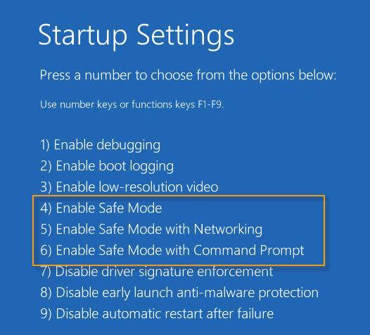 Ασφαλής λειτουργία των Windows 8