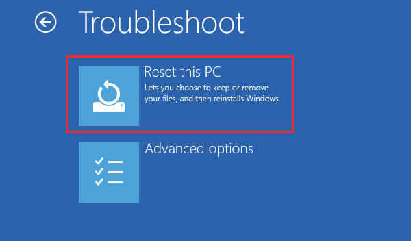 how to factory reset windows 8 dell