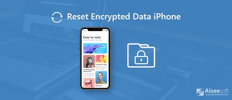 Ripristina i dati crittografati su iPhone