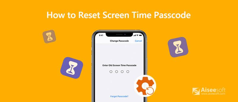 Επαναφορά κωδικού πρόσβασης χρόνου οθόνης