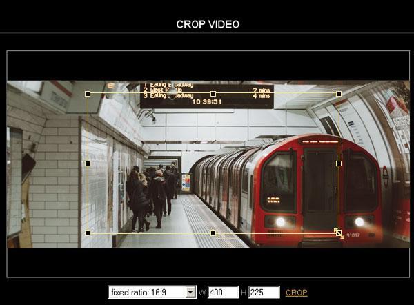 CROP βίντεο