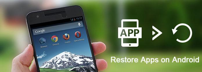 Επαναφορά εφαρμογών Android