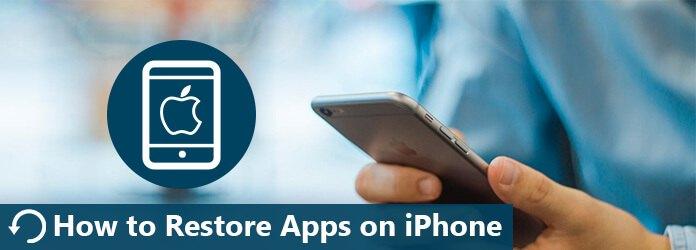 Come ripristinare le app su iPhone