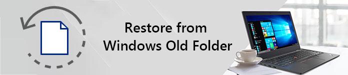 Ripristina dalla vecchia cartella di Windows