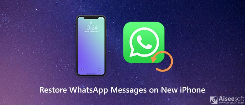 Επαναφορά μηνυμάτων WhatsApp σε νέο iPhone