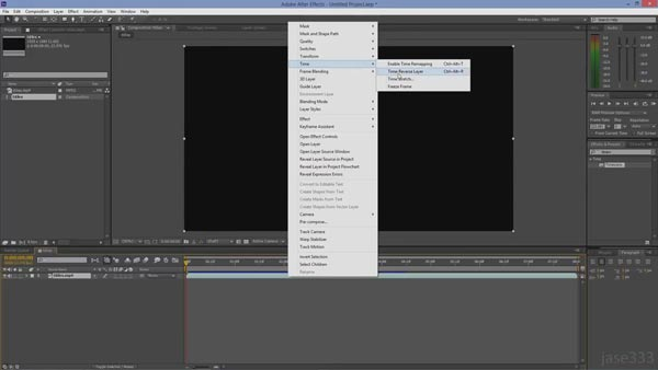 Clip video inversa