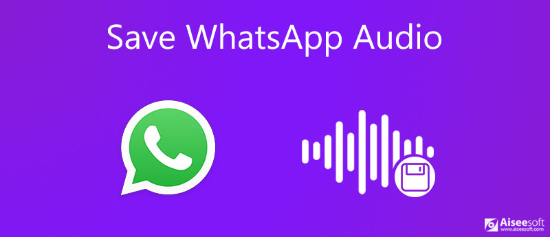 Sla WhatsApp Audio op