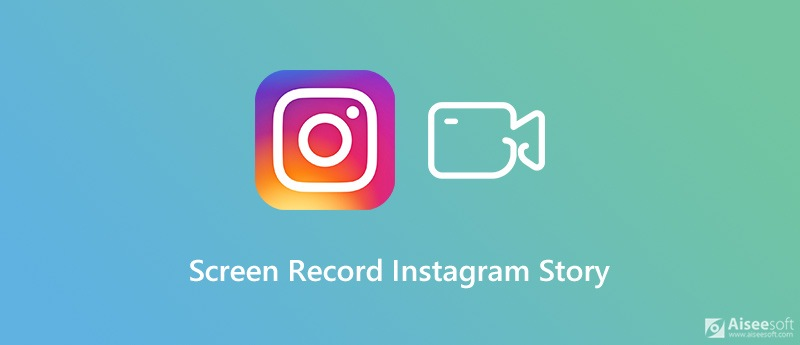 Screen Record Instagram Story