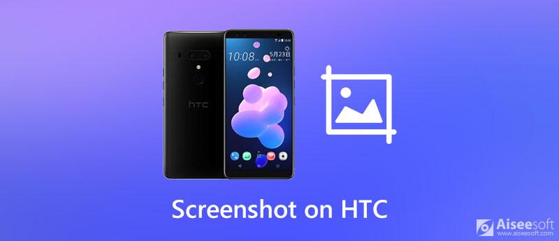 Screenshot su HTC