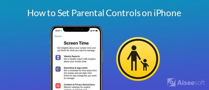 Ορίστε τους γονικούς ελέγχους στο iPhone